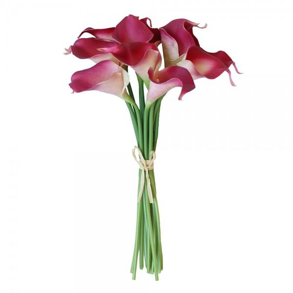 Розовые каллы поштучно ( цена за 9 шт.)