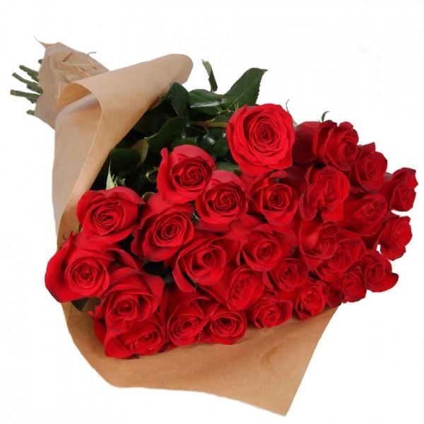 Красные розы для любимой